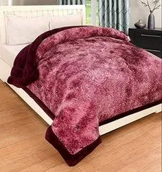 Pink Single Mink Blanket