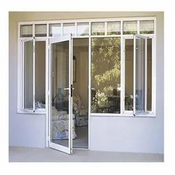 Toughened Glass Designer Casement Windows And Doors, 6 MM, Interior & Exterior