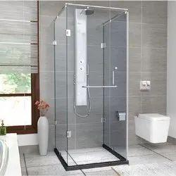 Glass 1840-U Jaquar Shower Enclosure, For Bathroom
