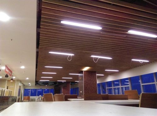Wooden Baffle Ceiling Ld Square Technologies India Pvt