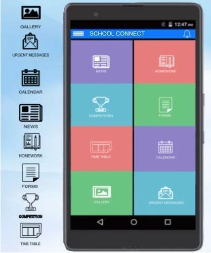School Connect App In South Tukoganj Indore Avm Infotech India