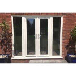 Casement White Exterior UPVC Windows, For Residential And Commercial