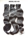 No Chemical Closure Wavy Virgin Remy Human Hair