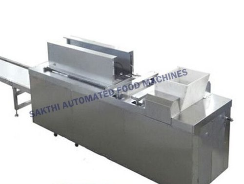 Auto Chikki Sheeting & Cutting Machine