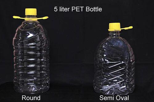 e2ca49a3d4 Hi-Tech Plastic 5 Liter Bottle, Packaging Type: Polypack, Capacity ...