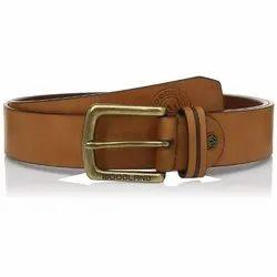 Woodland BT 1073041 Tan Men's Leather Belt