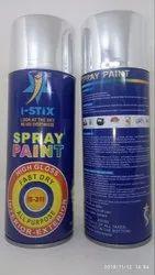 Anti - Corrosion Acrylic Spray Paint Flash Silver