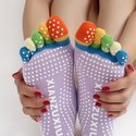 Yoga Fitness Non Slip Socks (Assorted Colors)