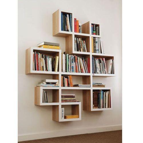 Wooden Office Bookshelf