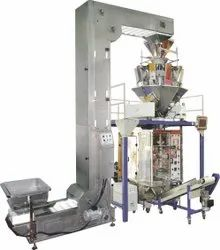 Automatic VFFS (Collar Type) Multihead Weigh Filler