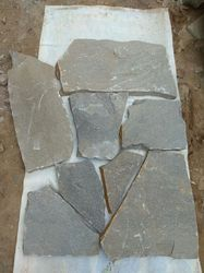 D Grey Flagstone, For Flooring, Thickness: 20 mm