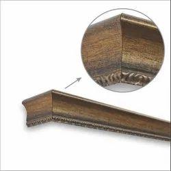 Brush Gold Window Pelmets