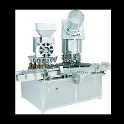 Three Head Servo Based Augur Filling Machine