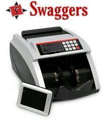 Swaggers Note Counting Machine with Fake Note Detection