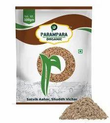 Parampara Organic Brown Cumin Seeds (Jeera), Packaging Type: Pouch, Packaging Size: 500g
