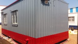 Prefabricated Steel Office Cabin