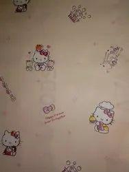 Royal Pattern PVC Kids Wallpaper, Size: 21 Inch * 33 Feet