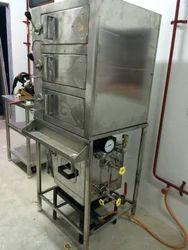 Stainless Steel Idli Steamer, For Restaurant, Size/Dimension: Std