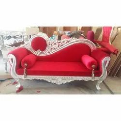 Red Banquet Hall Sofa