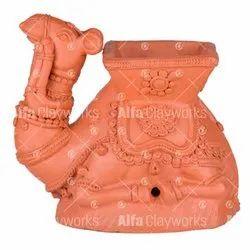 Terracotta Camel Pots / Planter
