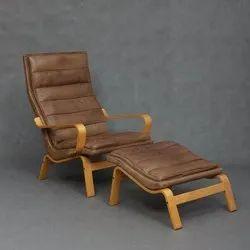 Brown Diy Bent Plywood Chair