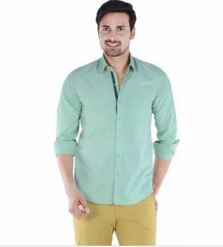 3b7d10ca314 Men Solid Casual Shirt For Men