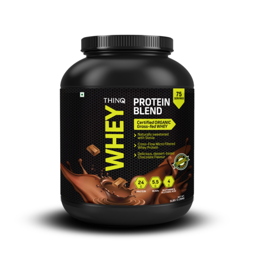 Thinq Whey Protein Blend (5lbs), Packaging Type: Plastic Container