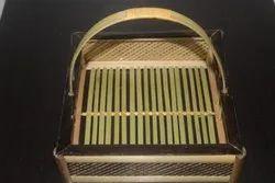 Saji Basket  - Cane Look, Size/Dimension: 8