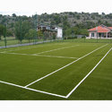 Tennis Court Green Artificial Grass