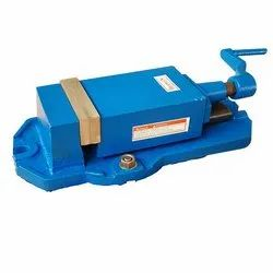 Greaded Casting Herman HE 118 - Milling Machine Vice Fixed Base, Size: 110 / 150 / 200 Mm, For Industrial