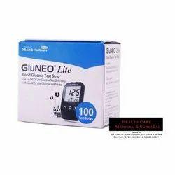 GluNEO Lite Blood Glucose Test Stip and Test Meter