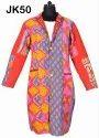 Jackets Fine Vintage Kantha Long Gudri Rally Coat Sherwani Jk50