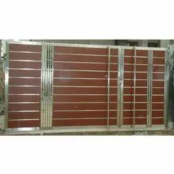 RG Steel Sliding Residential SS304 Main Gate