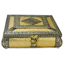 A Beautiful Square Wooden Box350