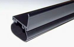Rectangular Brown Rubber Door Seal, For Industrial, Size: Standard