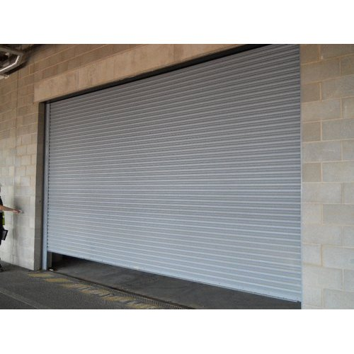 Galvenized steel Single Phase Commercial Rolling Shutter
