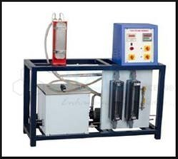 Plate Type Heat Exchanger Apparatus, Model: JaincoLab