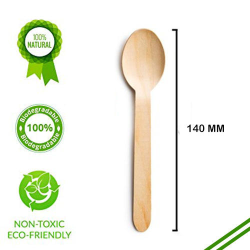 140mm Wooden Spoons