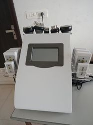6 in 1 Lipo Laser RF Cavitation with Vacuum Machine, Lipo Cavitation With RF Vaccume machine