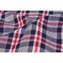 Cotton Check Plaid Printed Fabric