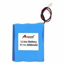 Li-Ion Battery Pack 11.1V 2200 Mah
