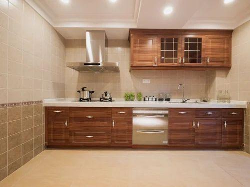 Plywood Colour Mambraine Modular Kitchen Rs 53000 Set Shree