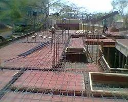 Concrete Frame Structures RCC and centering construction services