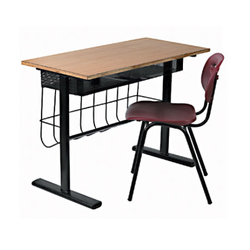 Wood, Metal Institutional Furniture for Students