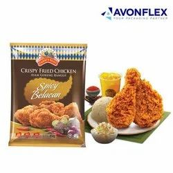Printed Laminated Frozen Food Packaging Pouch