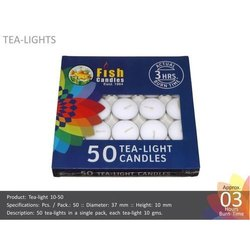 Tea-Light Candles 10-50