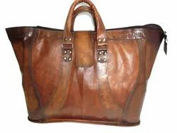Vintage Leather Hand Bag