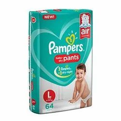 Pampers Baby Pant Diapers L-64(Mrp 1049)