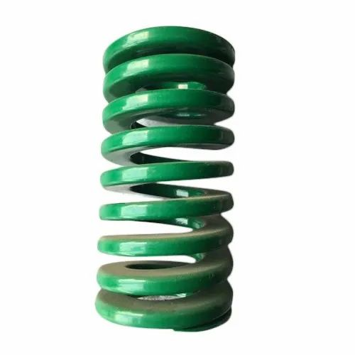 Green Injection Molding German Standred Die Spring, for Garage