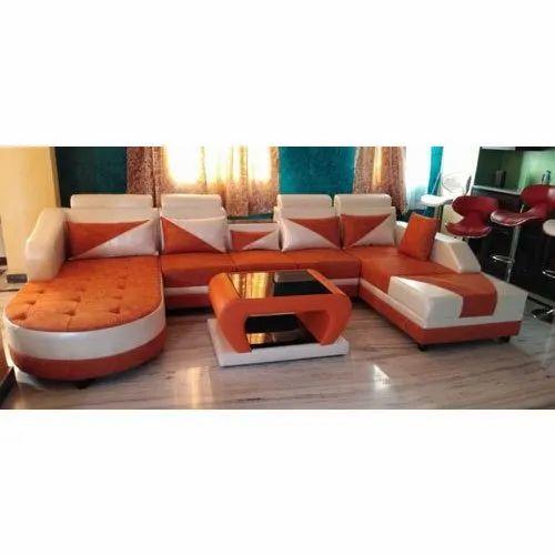 Foam U Shape Sofa Set, Rs 58000 /set Mumtaz Furniture | ID ...